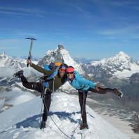 Breithorn 4164m + Matterhorn